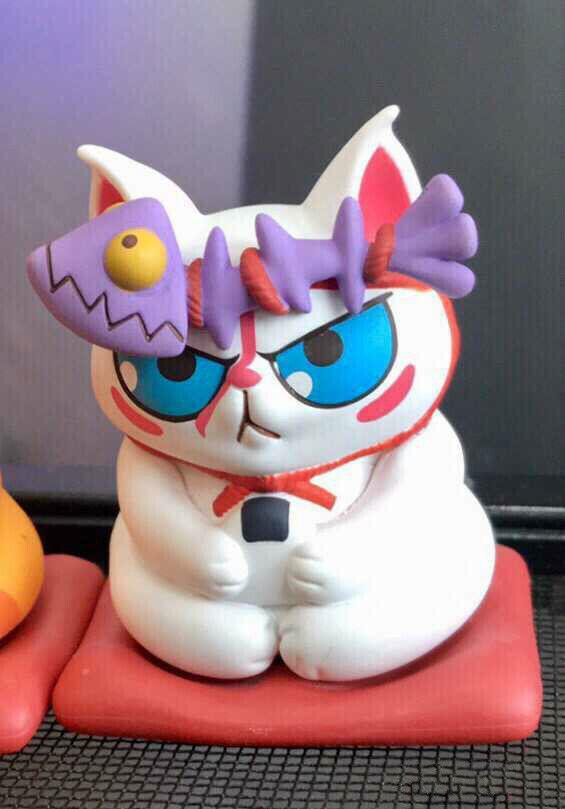 Nuevo 52 52 52 juguetes gatos diseñadores juguetes gatos blancooos escondidos secretos de pez 629