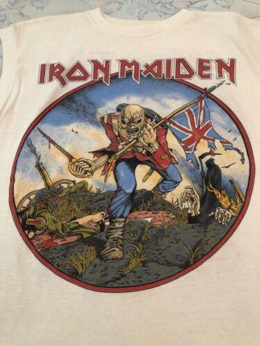 iron maiden t shirt vintage