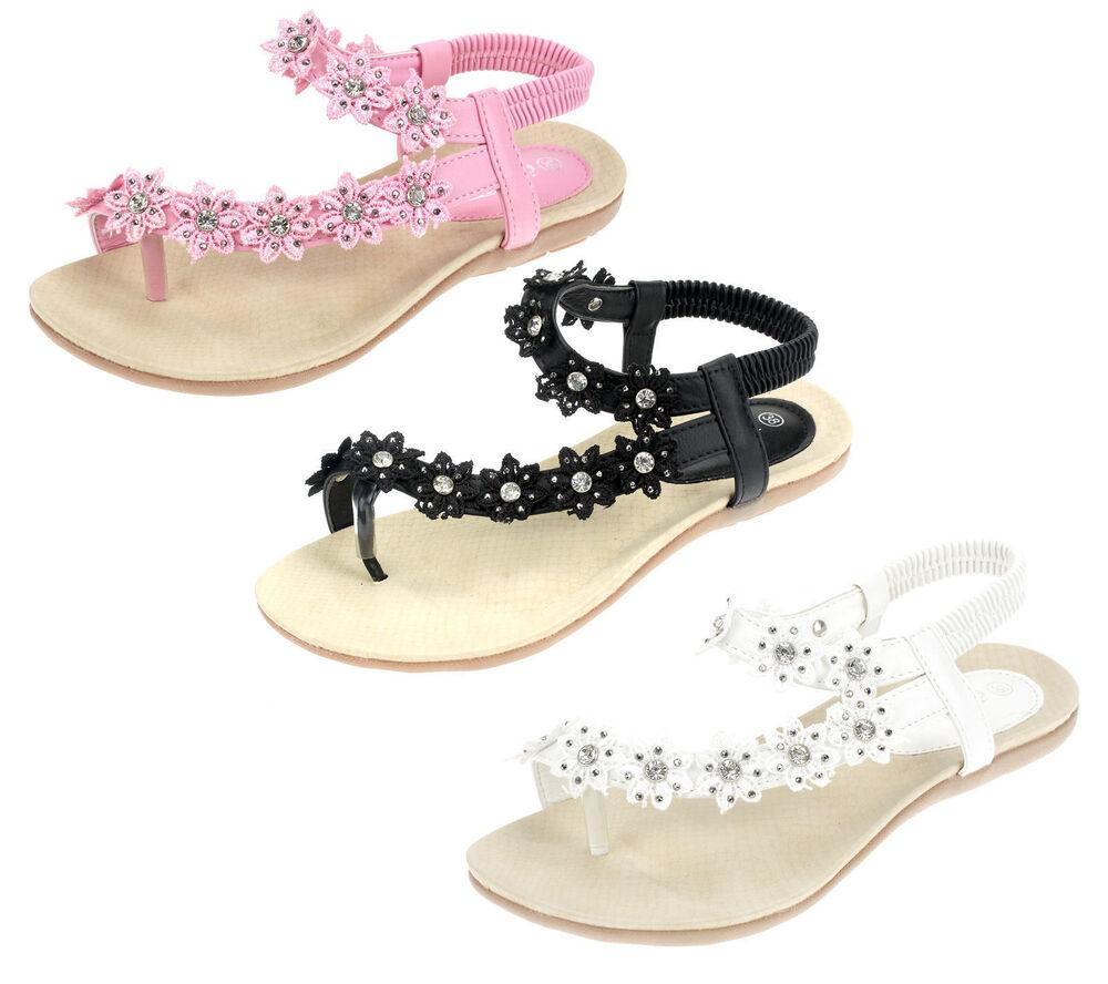 Femmes Sandales Chaussures D'Été Sandales Tongs 2527 Blanc Rose Noir La Qualité D'Abord