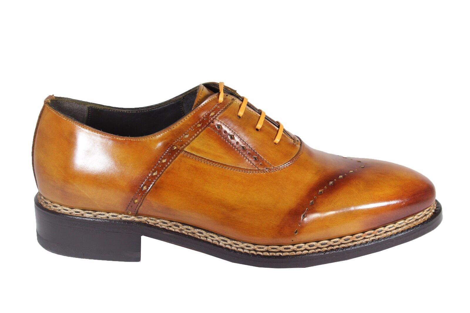 benvenuto a comprare HARRIS leather derby brogue stringata stringata stringata classica con cucitura norvegese  acquisto limitato