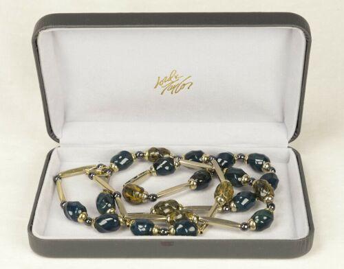 Iconic Vintage Lanvin Paris Modernist Necklace 19… - image 1