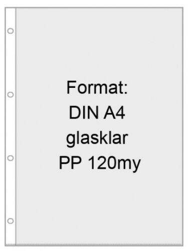100-Prospekthuellen-A4-Speisekarten-Sichthuellen-120-m-stark-glasklar