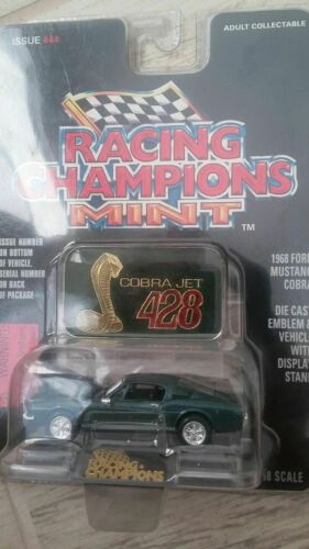 Racing Champions Mint Edition 1968 Mustang Cobra Green