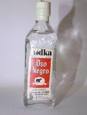 Vodka Oso Nergo 50 ml 40% mini flaschen bottle miniature bottela MEXICO RAR