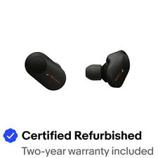 Sony WF1000XM3 Noise Canceling True Wireless Earbuds - Black