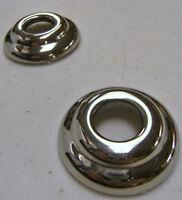 Ford Standard Car Door Handle Riser Escutcheons Stainless Steel Pair