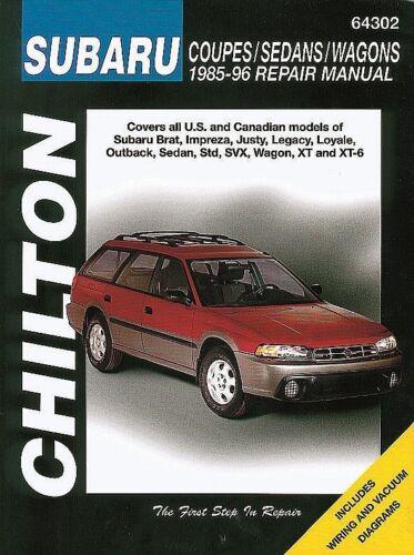 Repair Manual-Base Chilton 64302