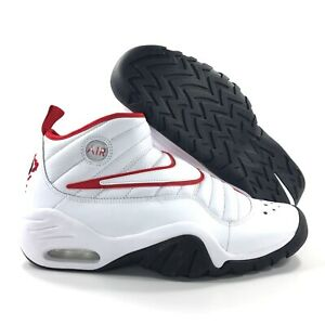 Details zu Nike Air Shake Ndestrukt Bulls White Black Red Rodman 880869 100 Men's 10.5
