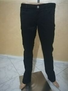 PANTALONE-GUESS-DONNA-Taglia-size-30-pants-woman-Jeans-donna-nero-P-4151