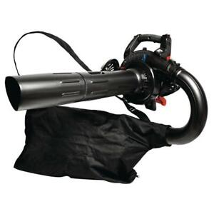 Leaf Blower with Vacuum Kit 205 MPH 450 CFM 27cc 2-Cycle Full-Crank Engine Gas