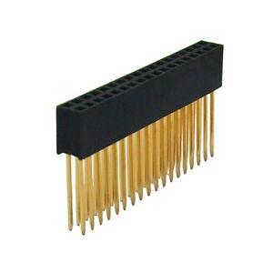 36pin (2*18 pin) Stacking Header - Stapelbare Kontaktleiste für Arduino Mega