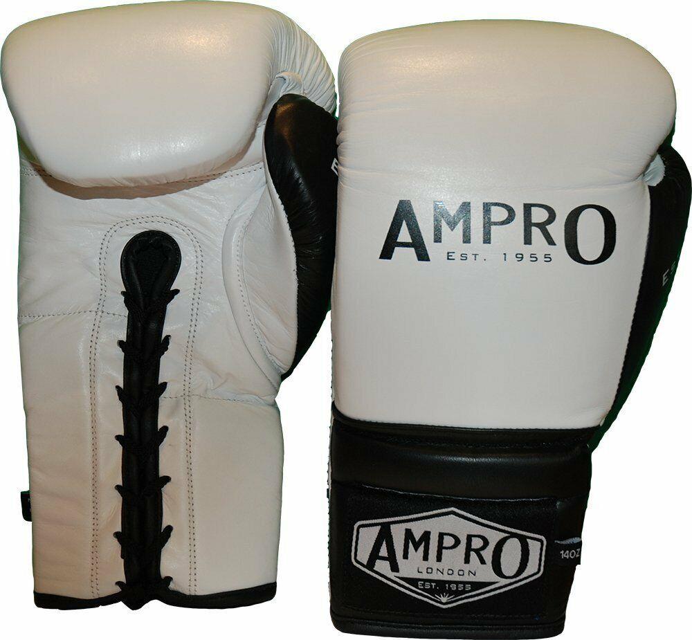 AMPRO MADISON Lacci Sparring Guanti BiancoSparPugilatoTRAININGLacci