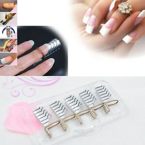 Image Is Loading Salon Tips Forms Uv Gel Nail Extension Acrylic