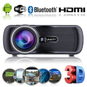 Android4-4-WIFI-1080P-Portable-HD-LED-Projector-7000Lumen-Home-Theater-Projector