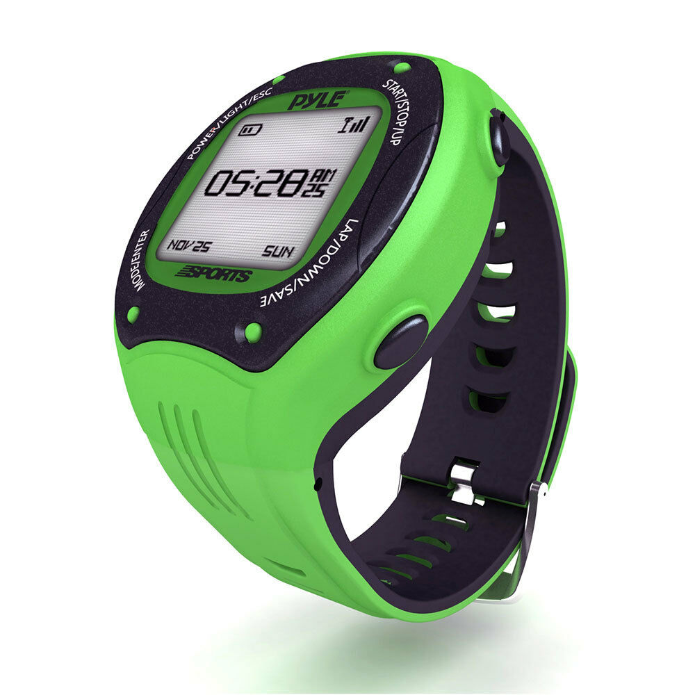 NEW Pyle PSGP410GN Digital LED with Sports Training Watch with LED GPS Navigation 621e3f