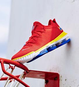 Nike LeBron 16 XVI Low Superbron Red
