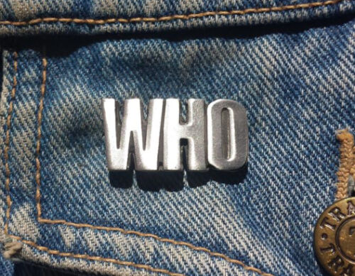 The Who Pewter Pin Badge