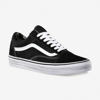 Vans Old Skool Skate Shoes Black/White