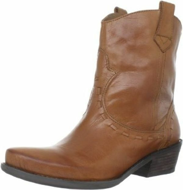 FRANCO SARTO WINDOW NUTMEG ANKLE BOOT WOMEN SIZE 5.5 M