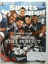 2007 NEW ENGLAND PATRIOTS STILL SMILING & PERFECT 11-12 SPORTS ILLUSTRATED
