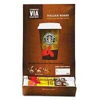 Starbucks Via Ready Brew Coffee 3/25oz Italian Roast 50/box 11008130 on sale