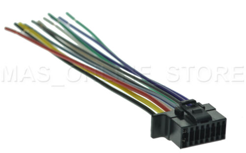 WIRE HARNESS FOR SONY CDX-GT570UP CDXGT570UP CDX-GT470UM CDXGT470UM