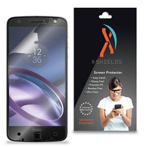 XShields (5-Pack) Clear HD Screen Protector For Motorola Moto Z Droid
