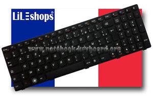 Clavier-Francais-Original-Lenovo-Ideapad-9Z-N5SSC-00F-NSK-B50SC-0F-Serie-Neuf