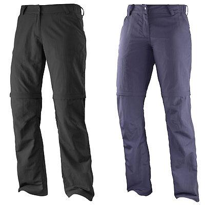 Salomon Elemental Zip Pant W Womens Hiking Outdoor Trousers Mountain Detachable | eBay