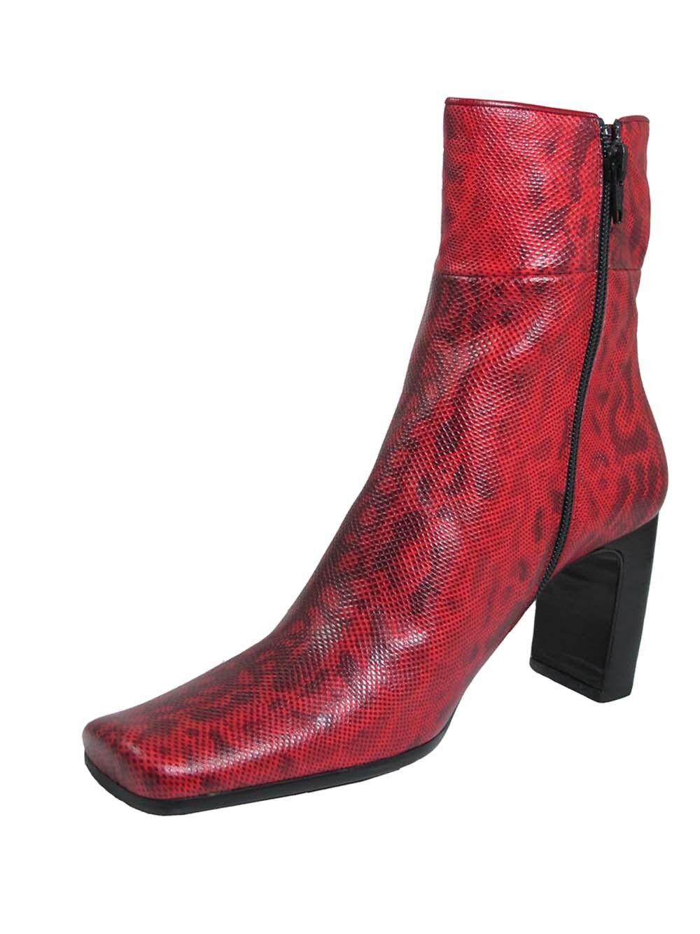 Ballin  Donna Italian Designer Designer Italian 903 Ankle Stivali Snake skin c97580