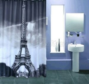 Image Is Loading Include Hook Gray France Paris Eiffel Tower Bathroom