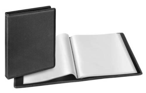 2 x Veloflex Sichtbuch Office A4 mit 36 Sichthüllen Office schwarz 4436880