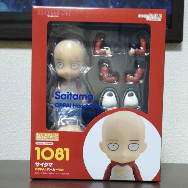 Good Smile Nendoroid 1081 ONE-PUNCH MAN Saitama OPPAI Hoodie Ver.