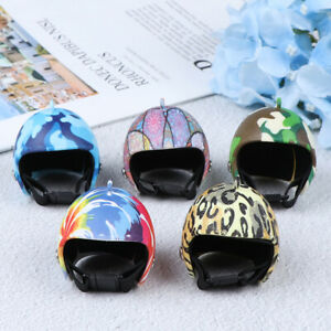 Cartoon-Anti-Stress-Toys-Accessories-Helmet-Keychain-Key-Ring-Pendant-Novelty-GN
