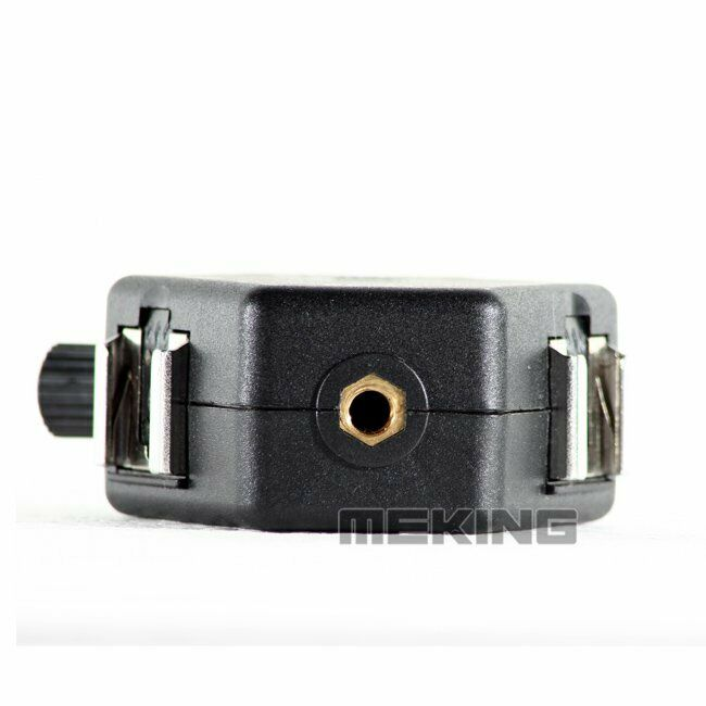 Durable CAOMING 3 Triple Head Hot Shoe Mount Adapter Flash Holder Bracket Light Stand Holder XF0003
