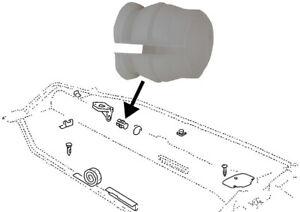 GEAR SHIFT ROD BUSH FRONT 111-701-259A  T2 SPLIT SCREEN CAMPER T1 BUG