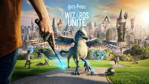 """Fighting USA Movie 24/""""x14/"""" Poster 001 Harry Potter Wizards Unite"""