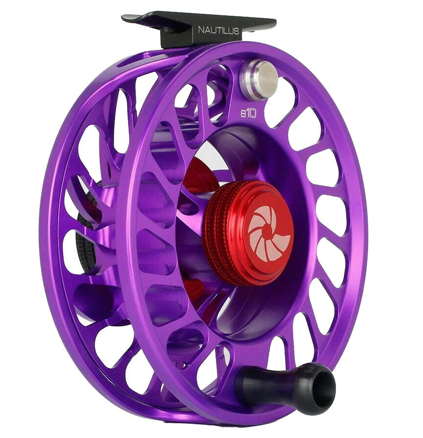 Nautilus CCF-X2 8-10 Fly Fishing Reel -  purple (8-10 WT) NEW  - Free US Ship  creative products