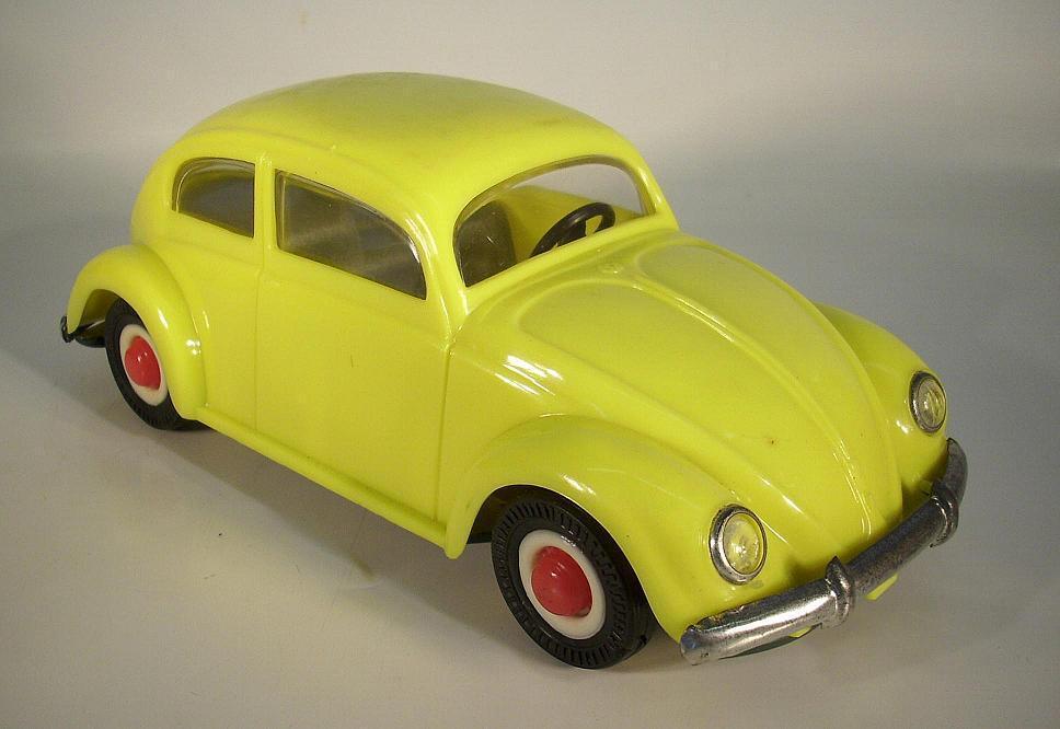PEPE o Jato VW Maggiolino OVAL GIALLO lamiera/plastica con forza