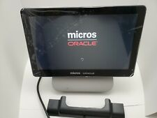 Micros Oracle Workstation 6 Terminal With Docking Stand Windows10 Ent Pos 1