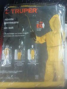 Truper Tra-pro-xl Regenanzug Größe Xl GroßEs Sortiment Anzüge