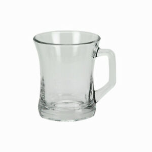 Lot-de-6-Tasses-en-Verre-225ml-pour-Latte-Cappuccino-Chocolat-Chaud-Cafe-The-Mug