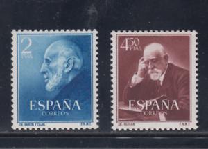 SPAIN-SERIE-EDIFIL-1119-20-NUEVOS-SIN-FIJASELLOS-ESPANA-RAMON-Y-CAJAL-Y-FERRAN