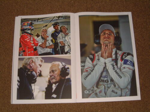PORSCHE AG LARGE PICTORIAL BOOK OF THEIR 17TH OVERALL LE MANS VICTORY OF 2015!!