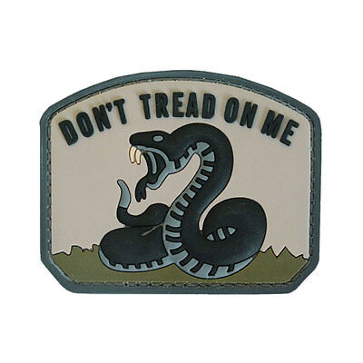 PVC Say When Morale Military Army EDC Tactical Airsoft Patch Badge Khaki NEW