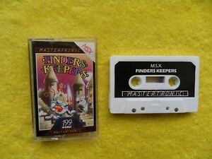 new-FINDERS-KEEPERS-by-mastertronic-msx-cassette