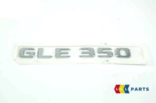 MERCEDES BENZ W166 GENUINE NEW GLE 350 LABEL STICKER BADGE EMBLEM A1668172600
