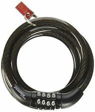 2 Pack Master Lock 8143D Combination Bike Lock 4 ft Long Black