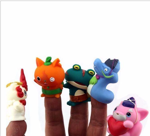 Lote 5 muñecos figuras YOKAI YO-KAI WATCH YO KAI juguete figure nintendo 3ds