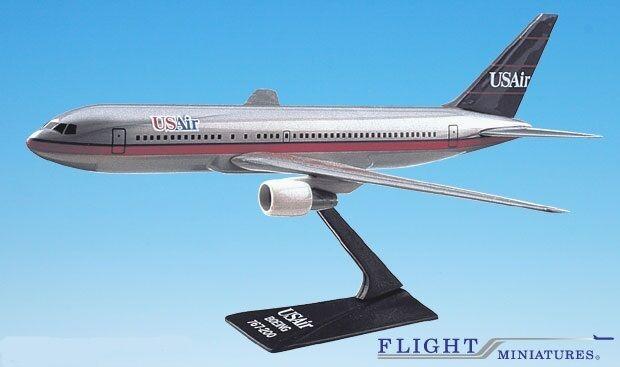 USAir (89-97) 767-200 Airplane Miniature Model Plastic Plastic Plastic Snap-Fit Kit 1 200 529442